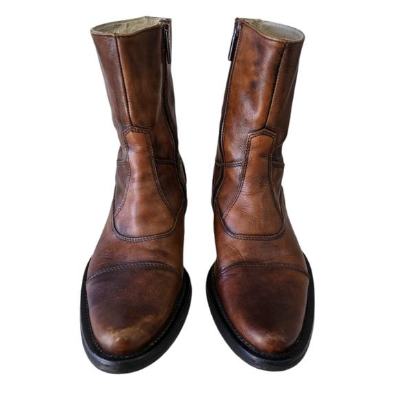 UNOVOBIS Leather Boots